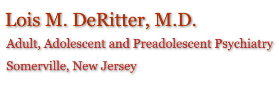 Lois M. DeRitter, M.D. - Adult, Adolescent and Child Psychiatry - Somerville, NJ